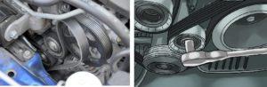 Замена приводного ремня генератора с выездом